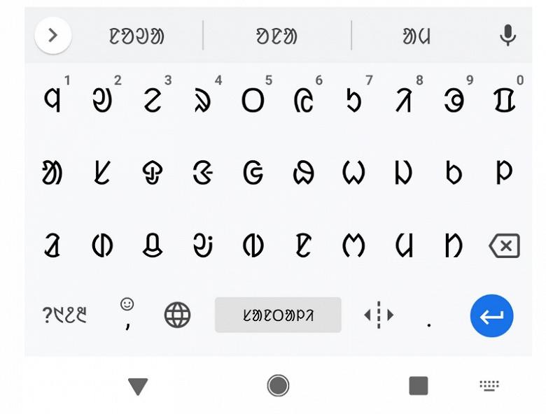 Клавиатура Google Gboard теперь поддерживает более 500 языков и их разновидностей