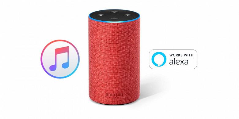 Поддержка сервиса Apple Music вскоре появится на сторонних умных колонках с поддержкой голосового помощника Alexa