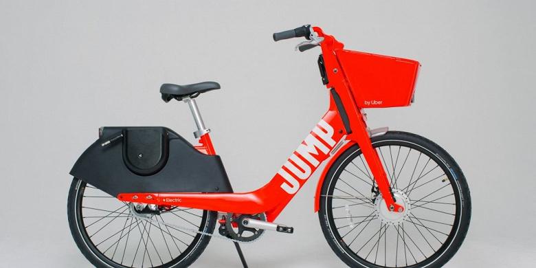Компания Uber обновила электрический велосипед Jump