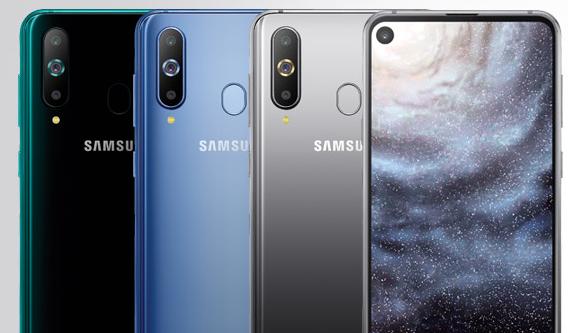 Cмартфон Samsung Galaxy A8s с «дырявым» экраном окажется дешевле, чем ожидалось