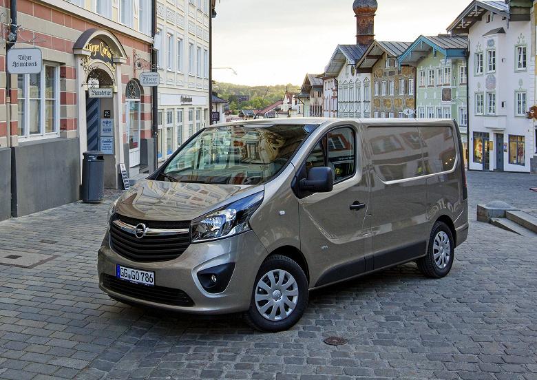 Opel выпустит электрический вариант фургона Vivaro в 2020 году