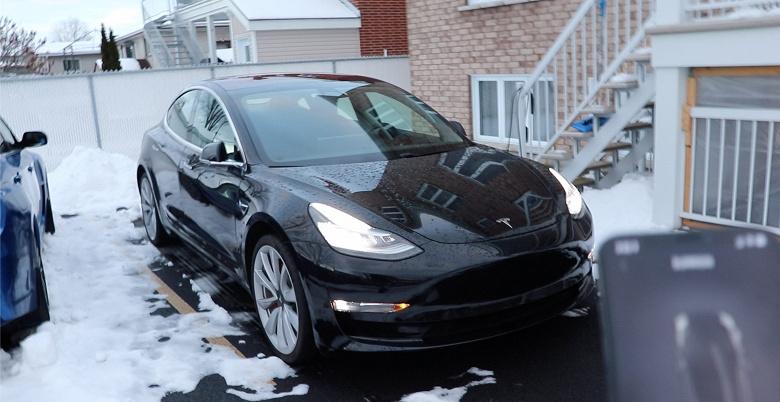 Очередная прошивка для Tesla Model 3 делает электромобиль более «морозоустойчивым»