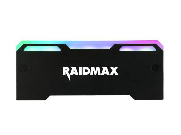 Радиаторы Raidmax MX-902F для модулей памяти украшены адресуемой подсветкой
