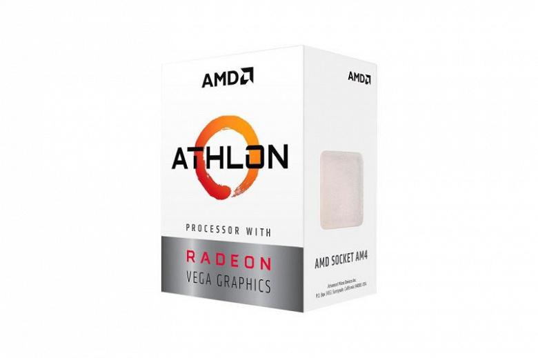 AMD представила бюджетные гибридные процессоры Athlon 220GE и 240GE на архитектуре Zen