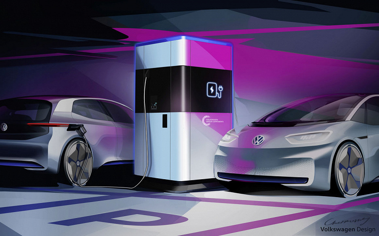 В будущем году в Германии появятся мобильные зарядные станции для электромобилей