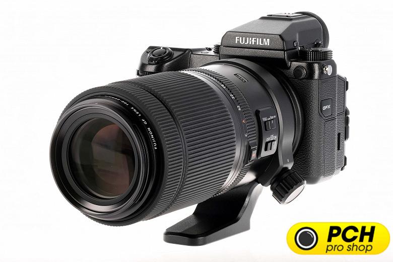 Появились первые изображения объектива Fujifilm GF100-200mmF5.6 R LM OIS WR