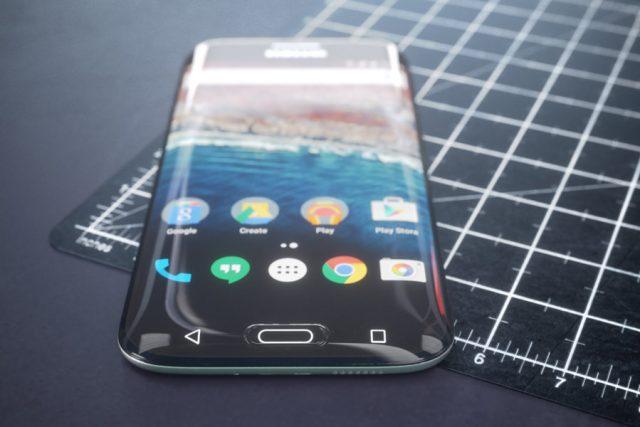 Samsung выпустит изогнутые ЖК-экраны для своих бюджетных смартфонов