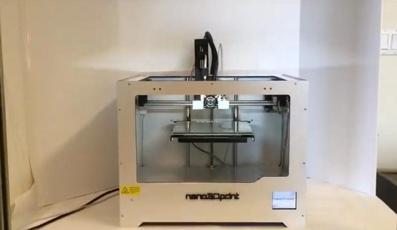 3D-принтер nano3Dprint A2200 позволяет печатать электронные компоненты