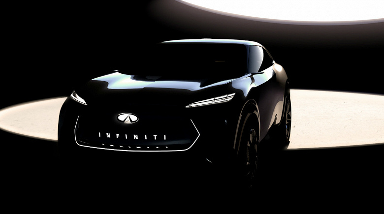 В январе Inifniti представит своей первый полностью электрический кроссовер