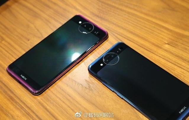 Смартфон Vivo NEX 2 сдвумя экранами показали накачественных рендерах