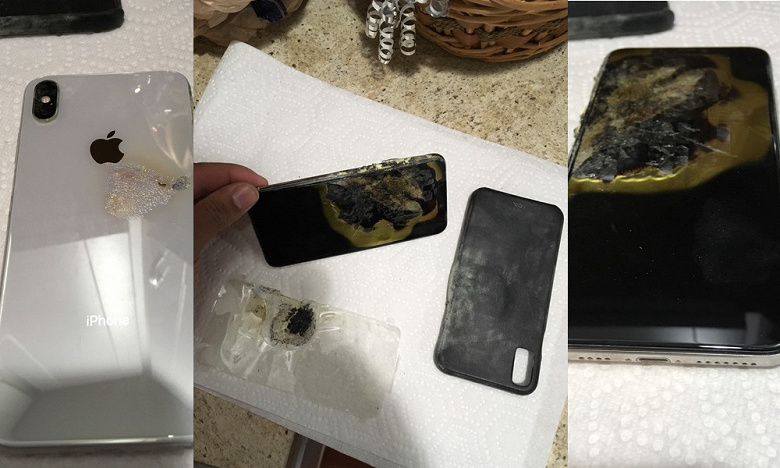 Первый пошёл: iPhone XS Max загорелся прямо в кармане брюк