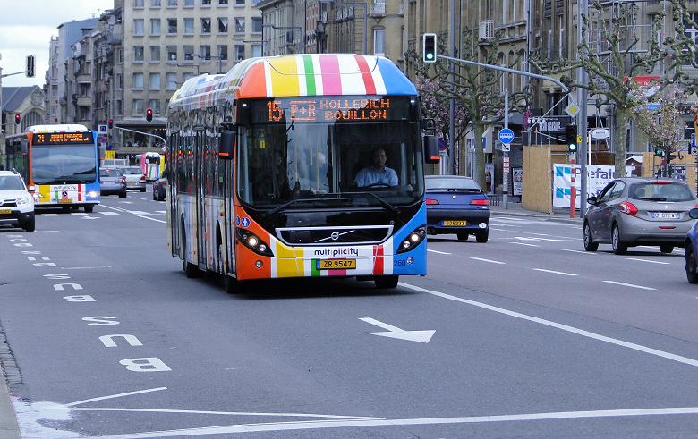 Люксембург станет первой страной, где весь общественный транспорт будет бесплатным