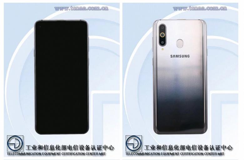 Смартфон Samsung Galaxy A8s с дырявым экраном рассекречен: много оперативной памяти, большой экран и тройная камера