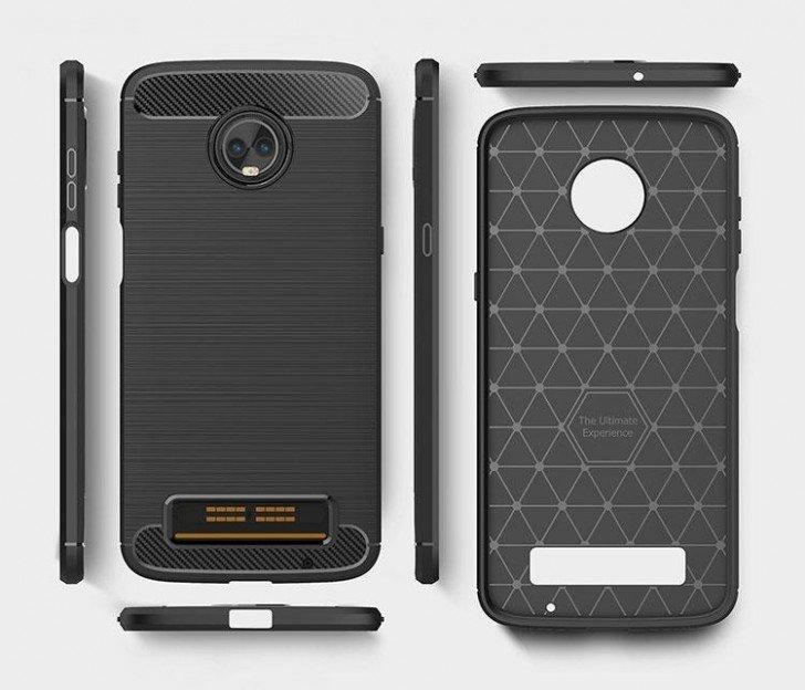 Смартфон Moto Z3 Play снабдят боковым сканером отпечатков пальцев