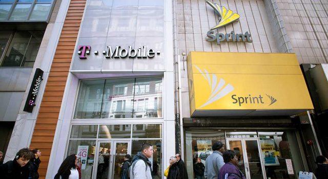 Ведущие операторы мобильной связи  США T-Mobile иSprint договорились о объединении