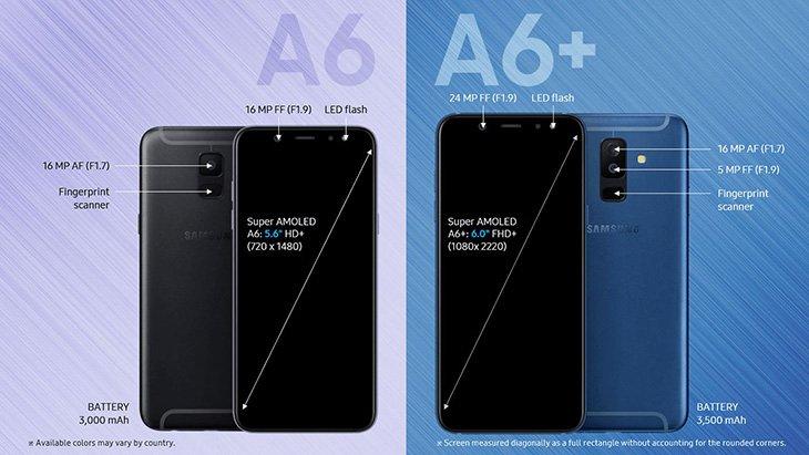 Инсайдеры рассекретили все характеристики ицены Самсунг Galaxy A6 иA6+