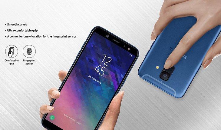 Раскрыты характеристики ицены на мобильные телефоны Самсунг Galaxy A6 иA6+