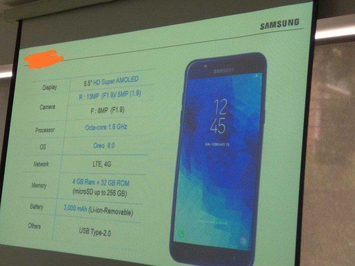 Samsung опубликовала характеристики Galaxy J7 Duo