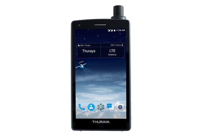 Thuraya X5-Touch— 1-ый вмире спутниковый смартфон
