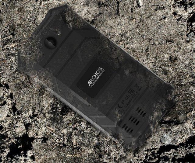Представлен защищенный смартфон Archos Saphir 50X