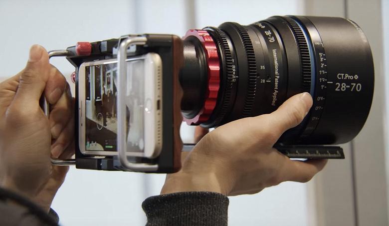 Cinematics показала необычный адаптер для смартфонов