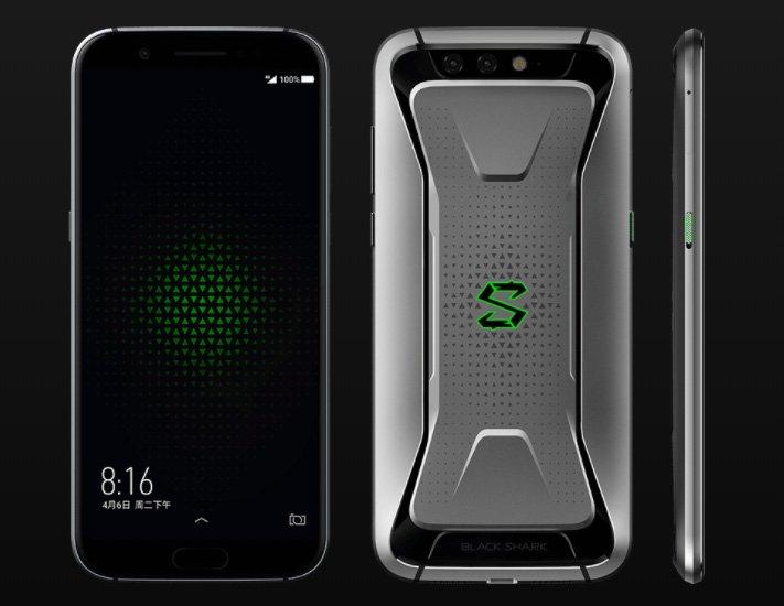 Представлен Xiaomi Black Shark — игровой смартфон с жидкостной системой охлаждения и подключаемым контроллером