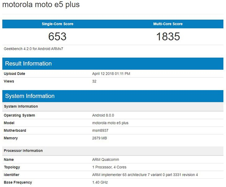 «Середнячки» Moto G6 иE5 представлены официально