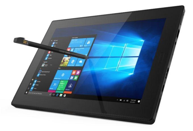 Планшет Lenovo Tablet 10 построен на CPU Intel Gemini Lake
