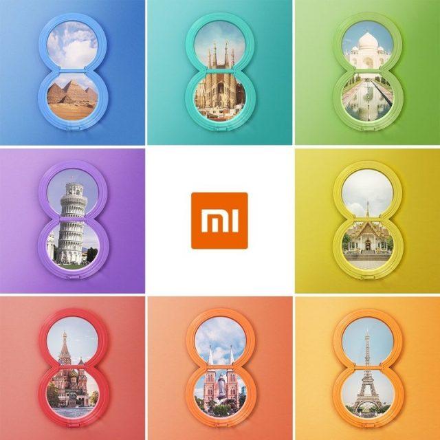 Xiaomi Mi8 выйдет в8 государствах мира, втом числе в РФ