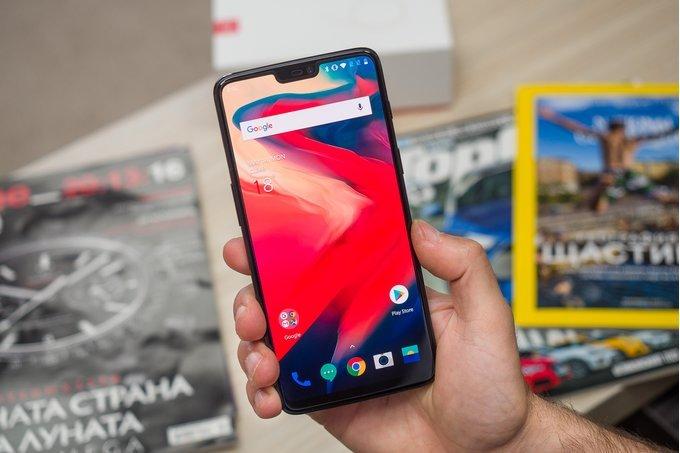 Защиту телефона OnePlus 6 можно обмануть пофотографии