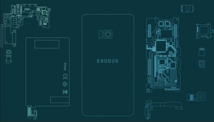 Exodus — первый блокчейн-смартфон компании HTC