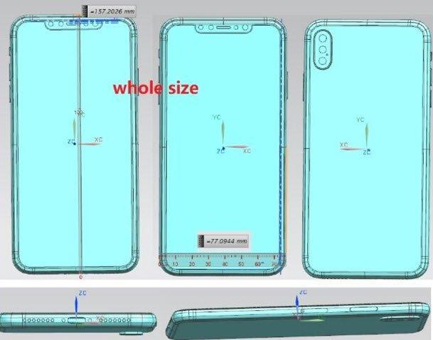 Появилось первое изображение флагманского iPhone с тройной основной камерой