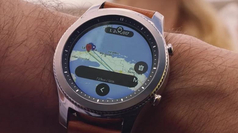 Умные часы Samsung Gear S4 получат намного более ёмкий аккумулятор, чем предыдущая модель