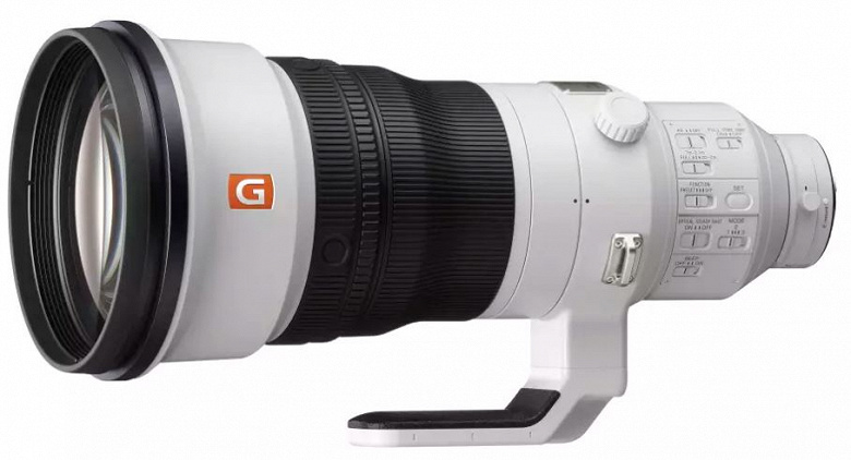 Представлен объектив Sony FE 400mm F2.8 GM OSS