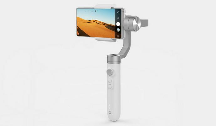 Xiaomi под брендом Mijia выпустила ручной стабилизатор для телефонов стоимостью $93