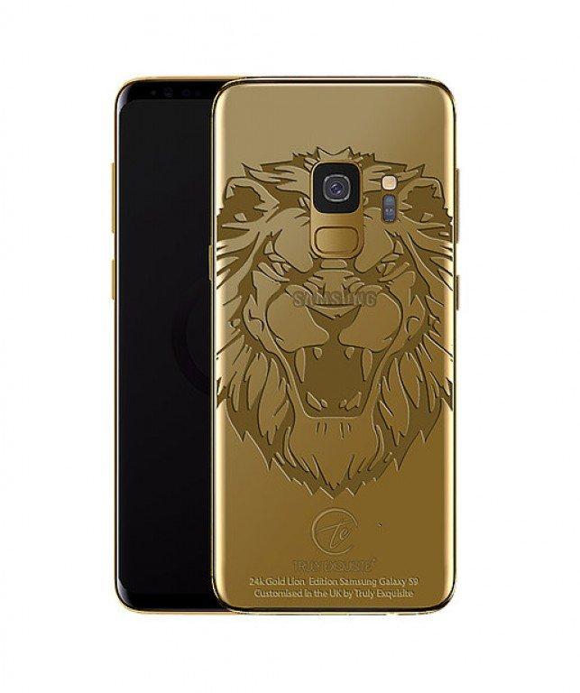 Truly Exquisite предлагает украшенные золотом и платиной смартфоны Samsung Galaxy S9 и Galaxy S9+
