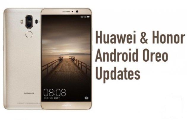 Huawei прибавила всписок телефонов с андроид Oreo еще 7 устройств