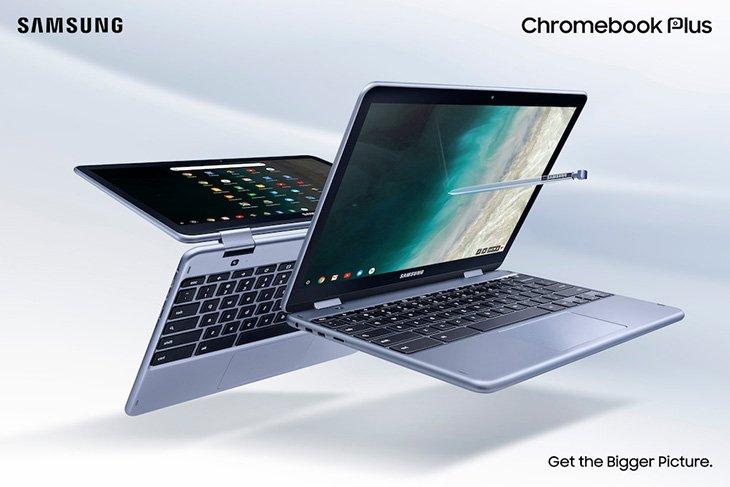 Самсунг презентовала улучшенный Chromebook Plus V2 за500 долларов