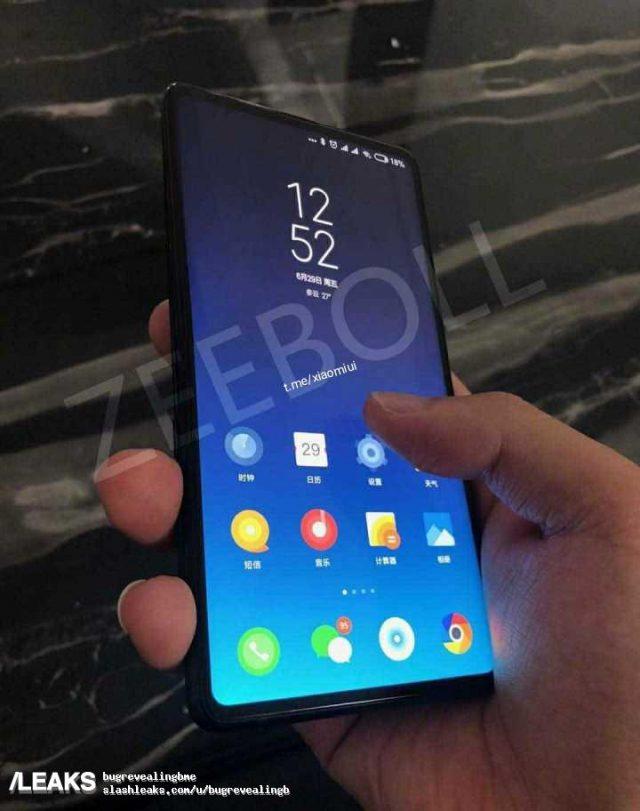 Фото дня: безрамочный смартфон Xiaomi Mi Mix 3