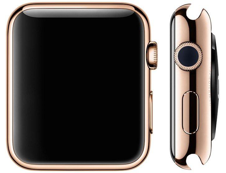 Кнопку наумных часах Apple Watch поменяют насенсорную