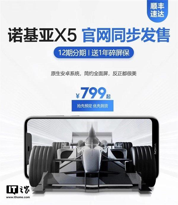 Nokia X5 будет стоить от $120