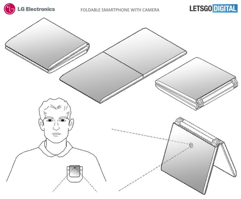 LG готовит собственный сгибающийся смартфон