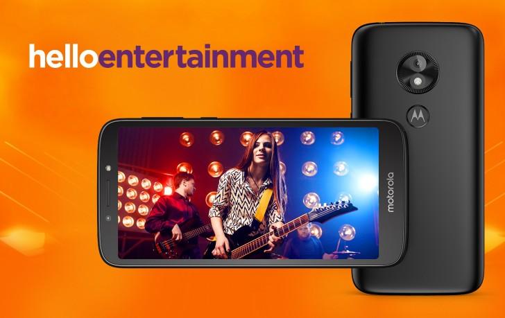 Представлен недорогой смартфон Moto E5 Play