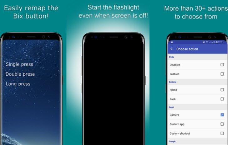 Выпущена новая версия приложения для переназначения кнопки Bixby в Samsung Galaxy Note9