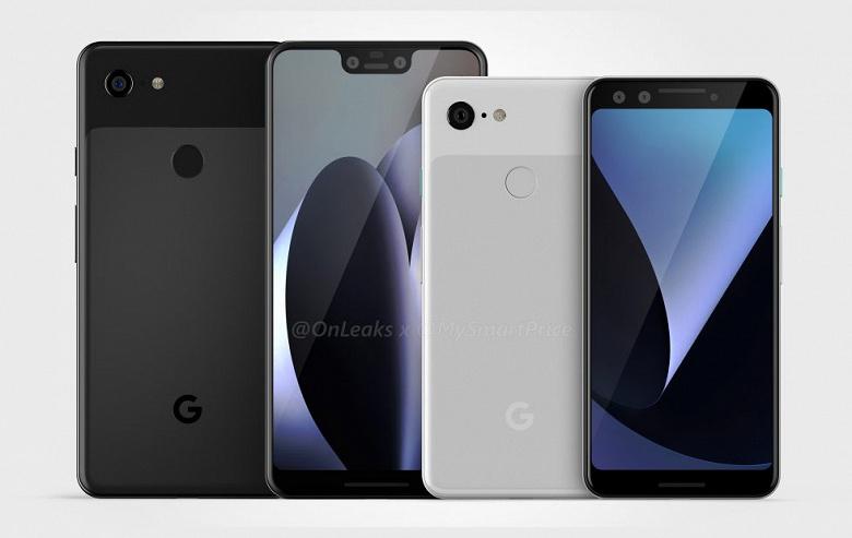 Google слила дату анонса смартфона Google Pixel 3