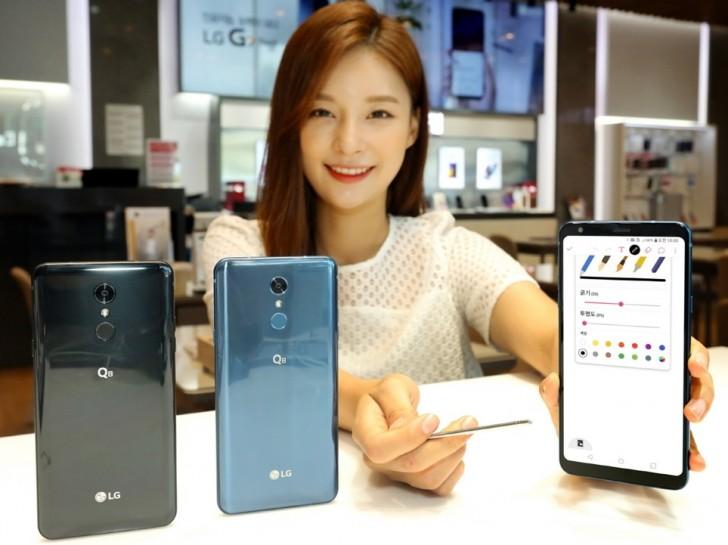 LGвыпустила общедоступный смартфон состилусом