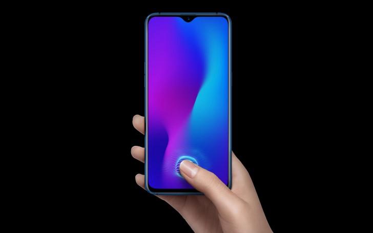 Представлен смартфон Oppo R17 с подэкранным сканером отпечатков пальцев
