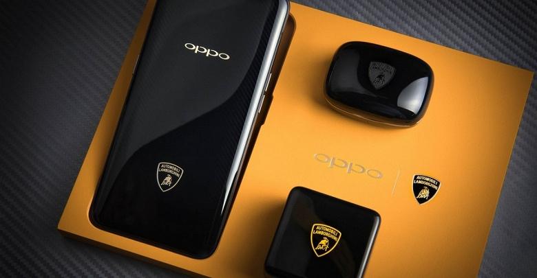 В смартфоне Oppo Find X Lamborghini Edition на самом деле два аккумулятора