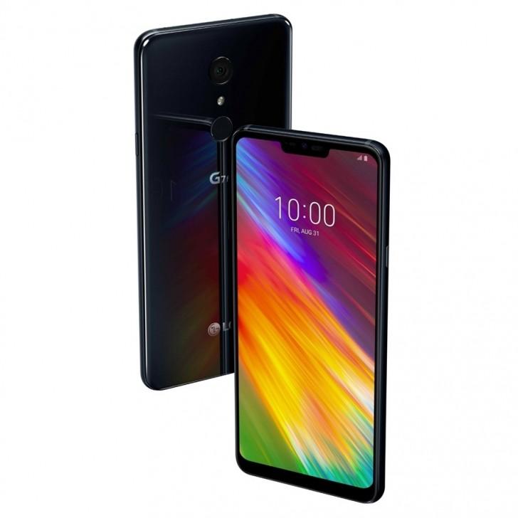 Опубликованы официальные изображения и характеристики LG G7 ThinQ и LG G7 Fit