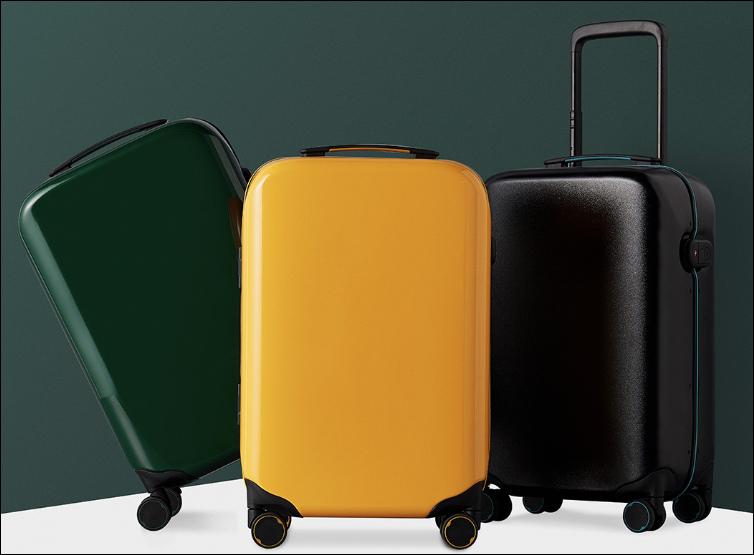 Xiaomi выпустила чемодан сосканером отпечатков пальцев